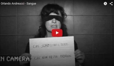 Orlando Andreucci, Sangue - Video per la Giornata Internazionale contro la violenza sulle donne