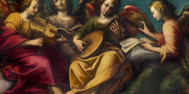 Antonio Vivaldi Gloria dipinto