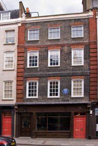 George Frideric Handel abitazione Londra con fantasma
