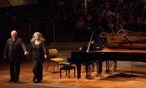 Daniel Barenboim Martha Argerich pianoforte