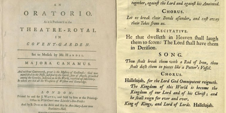 Il Messia testo libretto di Jensen