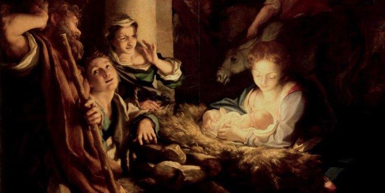 Adorazione dei pastori Correggio dipinto