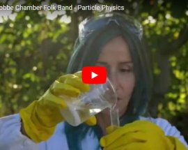 Chiara Giacobbe Chamber Folk Band Particle Physics - copertina Video