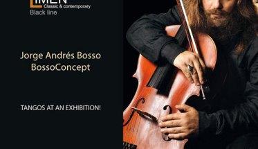 Jorge Bosso - Tangos at an exhibition copertina disco