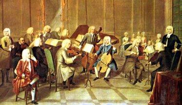 Aria sulla quarta corda di Bach DIPINTO