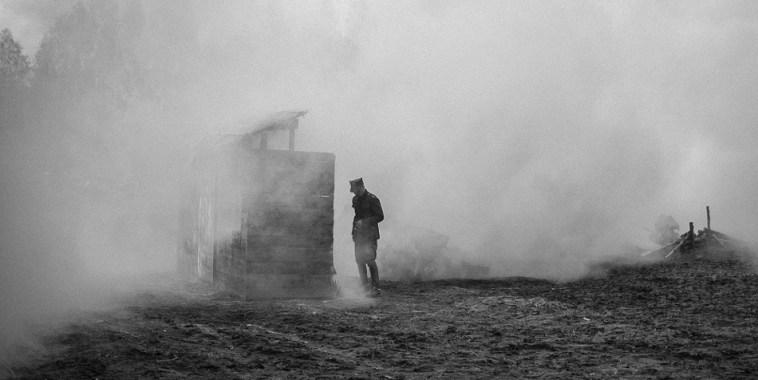 Bella ciao soldato nebbia