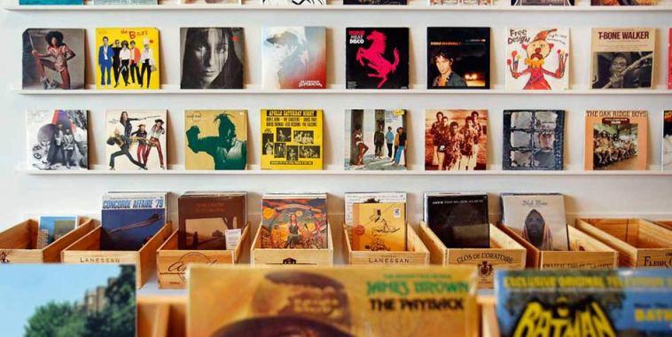 Copertine dischi famosi esposizione