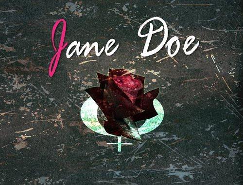 Jane Doe copertina disco con una rosa
