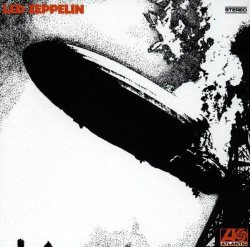 Led Zeppelin I - copertina disco