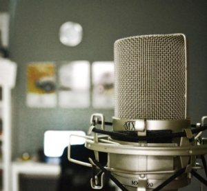 microfono per registrare la voce
