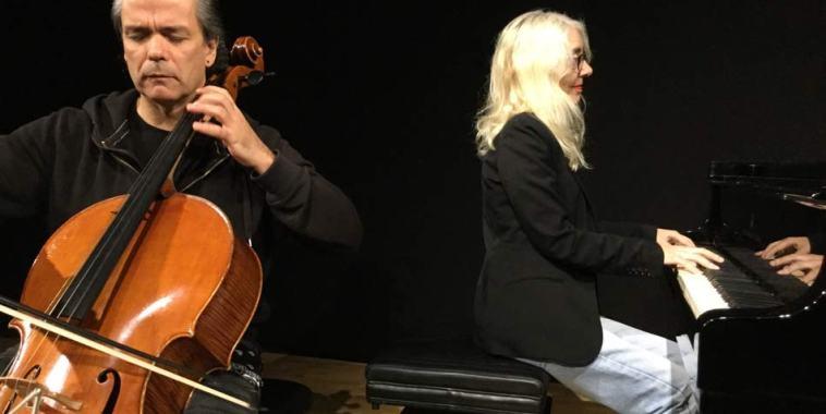 Luca Pincini, violoncello, e Gilda Buttà, pianoforte
