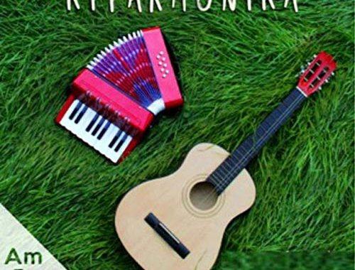 Am Bros One - Kitarmonika - copertina disco chitarra e fisarmonica