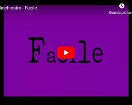 Comelinchiostro - Facile - copertina Video