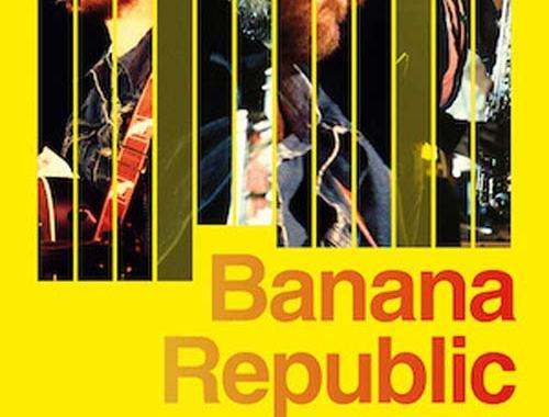Copertina del libro di Ferdinando Molteni: Banana Republic 1979 Dalla - De Gregori e il tour della svolta