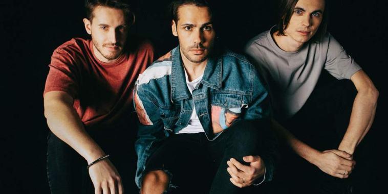 I tre componenti della band Disarmo
