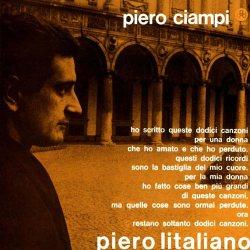 Piero Litaliano - copertina del disco di Piero Ciampi