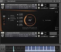 Una schermata del VST Orchestral Tools