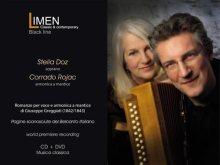 Copertina del cd di Rojac e la soprano Stelia Doz