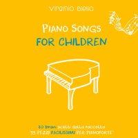 copertina del disco di Virginio Aiello: Piano Songs for Children