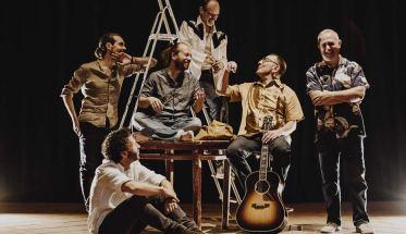 La band Mandolin' Brothers