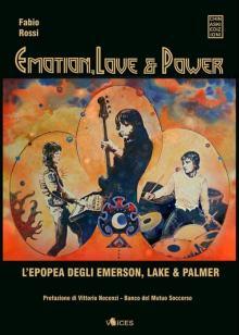Copertina del libro di Fabio Rossi: Emotion, Love & Power