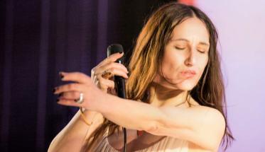 La cantante Francesca De Mori