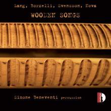 Copertina del disco di Simone Beneventi: Wooden Songs