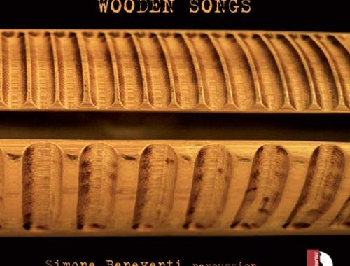 Copertina del disco di Simone Beneventi: Wooden Songs
