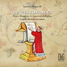 Copertina del disco BEATUS CONRADUS Messe e Mottetti per la Cattedrale di Molfetta