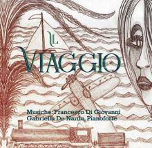Copertina del disco di Francesco Di Giovanni: Il viaggio, con un disegno