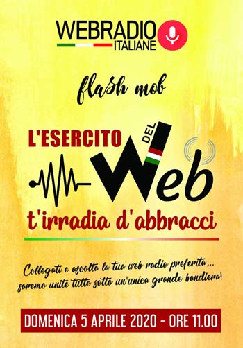 Flashmob delle Web Radio del 5 Aprile
