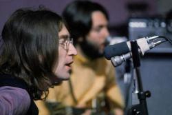 John e Paul mentre registrano