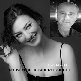 Ozonotre e Noemi Garbo nella copertina del singolo Let's Move On