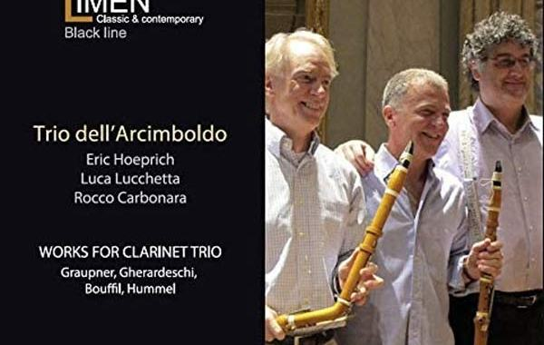 Copertina del CD del Trio dell'Arcimboldo: Works for Clarinetto Trio