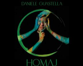 Daniele Guastella nella copertina del disco Homaj Vol.1