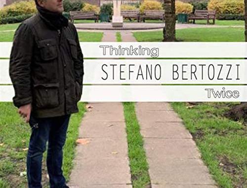 Stefano Bertozzi sulla copertina del disco Thinking Twice