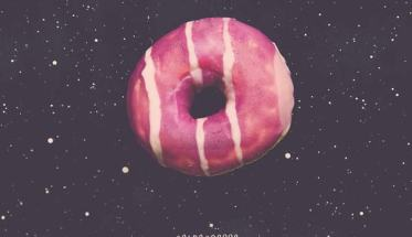 ciambella nello spazio in copertina del disco di Alangrime: Colpogrosso
