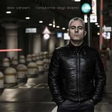 copertina disco di Alex Carpani, L'orizzonte degli eventi
