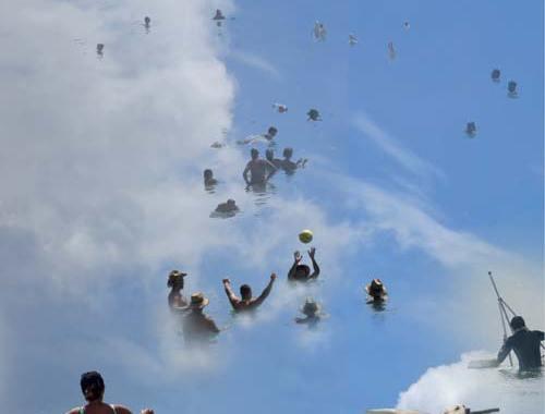 copertina disco Un saluto alle nuvole di Oteme