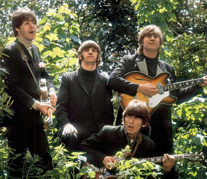 Foto dal video Paperback Writer dei Beatles