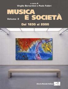 copertina libro Musica e società vol. 3 dal 1830 al 2000