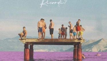 Persone al mare in copertina disco di Alessandro Ragazzo: Ricordi?