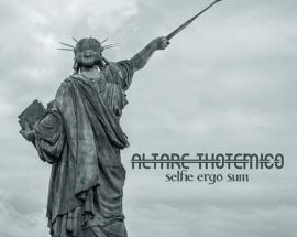 statua della libertà in copertina disco Selfie ergo sum di Altare Thotemico