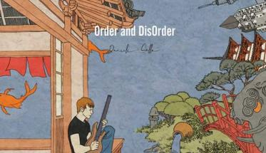 una illustrazione in copertina del disco di Daniele Sollo: Order and disOrder