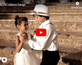 due bambini ballano in copertina del video dei LA SCELTA: Ultimo Tango