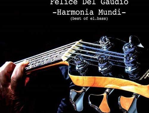 copertina disco di Felice Del Gaudio, Harmonia Mundi