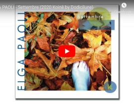 Copertina del video di Elga Paoli: Settembre
