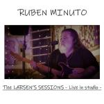 Ruben Minuto in copertina del disco The Larsen's Sessions – live in studio