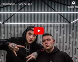 Sensei e Clementino in copertina del video di: Capi del rap