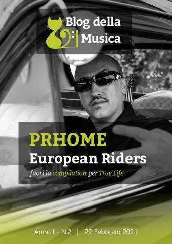 Prhome | In Copertina su Blog della Musica, n.2-2021